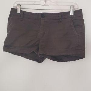 Aritzia Babaton Gray Modal Chino Shorts 4